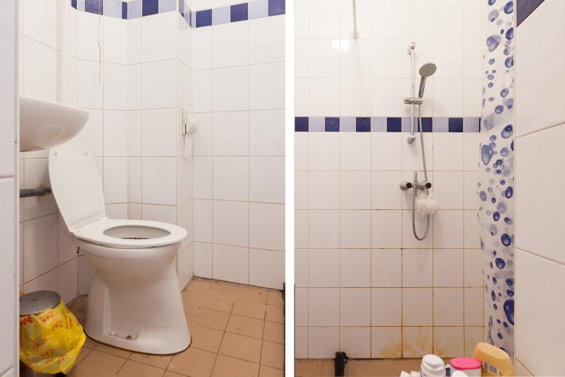 douche toilet